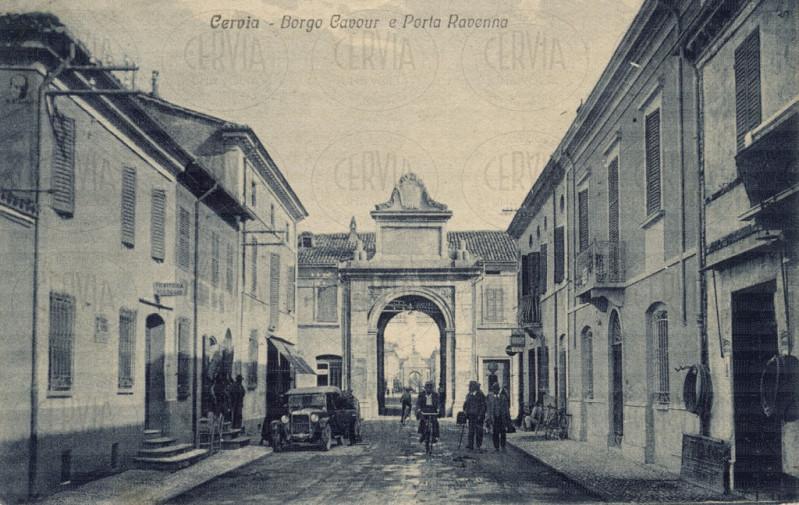 Cervia - Borgo Cavour e Porta Ravenna
