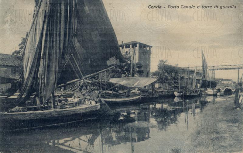 Cervia - Porto Canale e Torre di Guardia