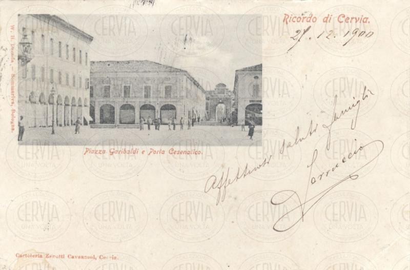 Piazza Garibaldi e Porta Cesenatico