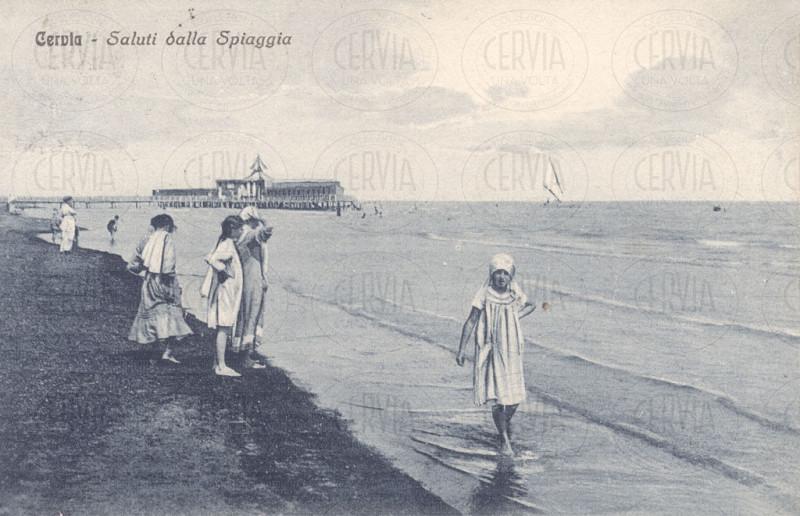Cervia - Saluti dalla Spiaggia