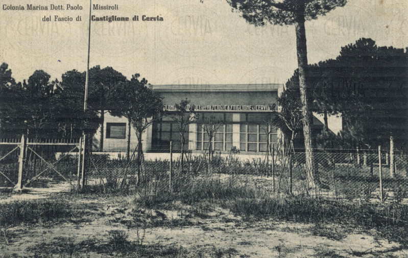 Castiglione di Cervia - Colonia Marina Dott. Paolo Missiroli