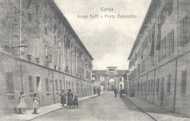 Borgo Saffi e Porta Cesenatico