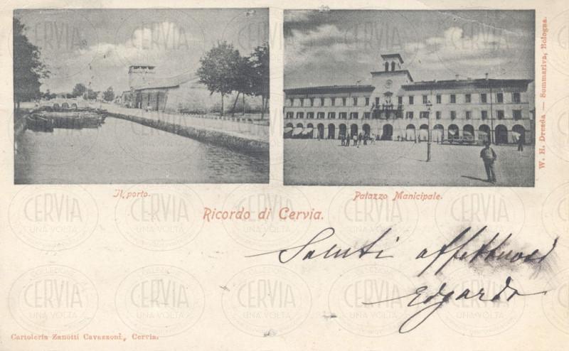 Il Porto e Palazzo Municipale