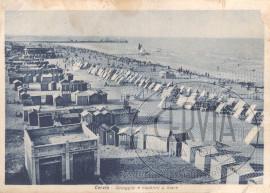 Cervia - Spiaggia e capanni a mare