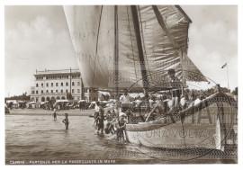 Cervia - Partenza per la passeggiata in mare