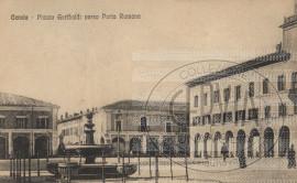 Cervia Piazza Garibaldi verso Porta Romana