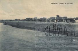 Cervia - Villini e la spiaggia