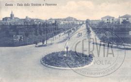 Viale della Stazione e Panorama