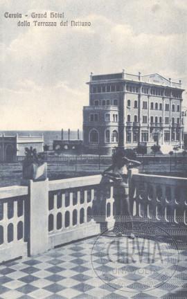 Grand Hotel Cervia dalla Terrazza del Nettuno