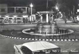 Viale dei Mille e Fontana - Notturno