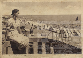 Cervia - Panorama della Spiaggia