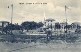 Cervia - Piazzale e Fontana al mare