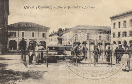Piazza Garibaldi e fontana