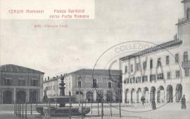 Piazza Garibaldi verso Porta Romana