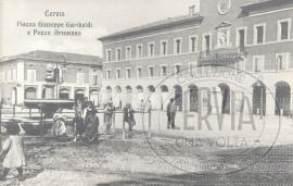 Cervia - Piazza Giuseppe Garibaldi e Pozzo Artesiano