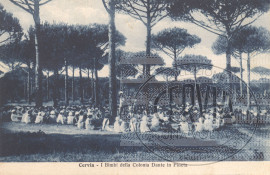 I Bimbi della Colonia Dante in Pineta