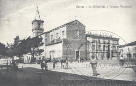 Cervia - La Cattedrale e Palazzo Vescovile