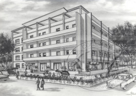 Hotel Esperia - disegno