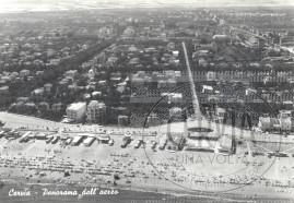 Cervia - Panorama dall'aereo