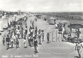 Cervia - La spiaggia - Colonia Dante